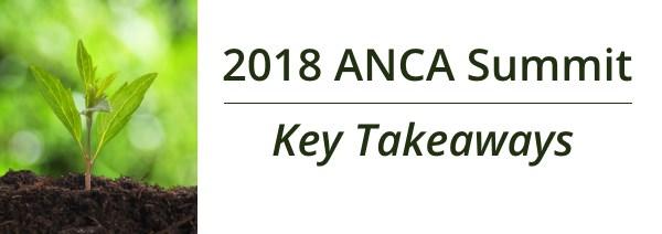 2018 ANCA Summit - Key Takeaways